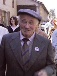 Gilbert Dalet au défilé du 1er mai